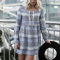 Feel The Breeze Blue Tunic