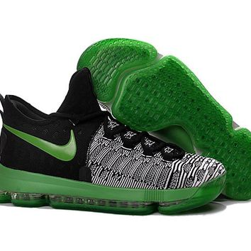 HCXX Nike Men's Durant Zoom KD 9 EP Basketball Shoes Green 40-46
