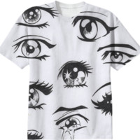 anime eyes created by rococoprince | Print All Over Me