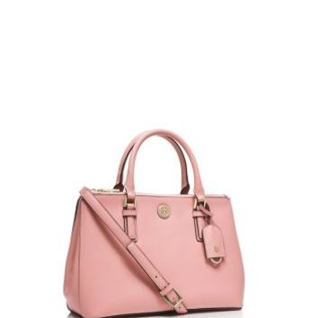 Tory Burch Robinson Mini Double-zip Tote