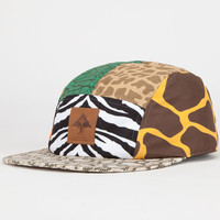 Lrg Savage Safari Mens 5 Panel Hat Multi One Size For Men 22425095701