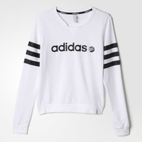 adidas Branded Sweatshirt - White | adidas US