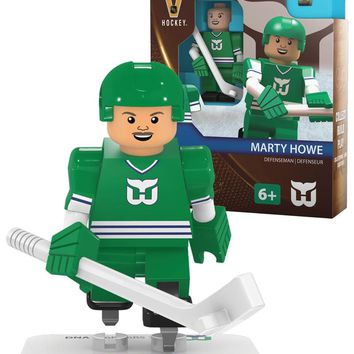 Hartford Whalers Marty Howe Vintage Home Uniform Limited Edition OYO Minifigure