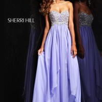 Sherri Hill Dress 3862 at Peaches Boutique