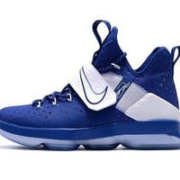Nike LeBron 14 XIV Royal Blue/White