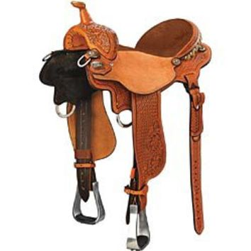 Charmayne James Record Breaker Barrel Racing Saddle by Cactus Saddlery - Smith Brothers