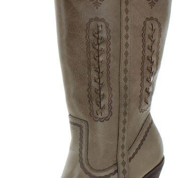 Very Volatile Rosewell Women's Western Cowboy Boots