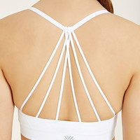 Low Impact - Webbed Sports Bra | Forever 21 - 2000152453