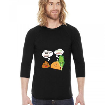 taco mexican i'm feeling really crappy today funny 3/4 Sleeve Shirt