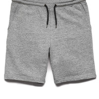Cotton-Blend Drawstring Shorts