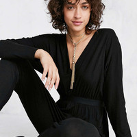 Silence + Noise Lexie Knit Dolman-Sleeve Jumpsuit - Urban Outfitters