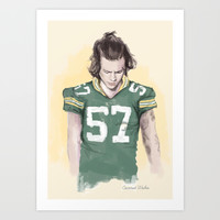 Harry is Packers AF Art Print by Coconut Wishes