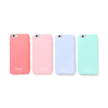 Mint soft pastel iPhone 6 case, iPhone 5s case, iPhone 5C case, matte finishing, baby blue, baby pink, DIY project