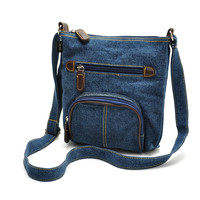 Casual Denim Crossbody Purse Small Shoulder Bag