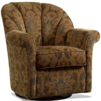 Whistle Patina Living Room Chair, Swivel Glide | macys.com