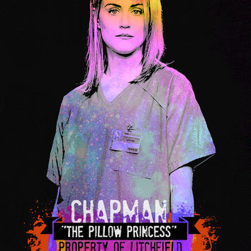"OiTNB - PIPER CHAPMAN - 8x11"" Digital Print by MoPS"