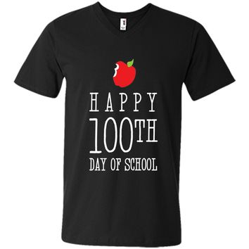 Happy 100th Day of School Shirt, Funny Cute Teacher Student