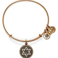 Women's Alex and Ani 'Star of David' Expandable Wire Bangle - Russian