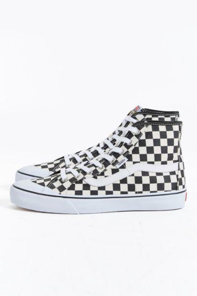 8f212aaaf9 Vans Black Ball Hi SF Checkered Sneaker from Urban Outfitters