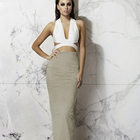 'Panther' Skirt (Grey)