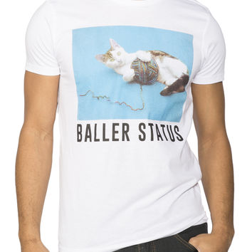 Guys 'Baller Status' Graphic Tee