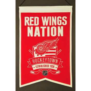 Detroit Red Wings NHL Nations Banner (15x20)