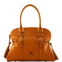 Florentine Domed Buckle Satchel