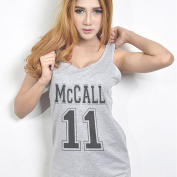 Scott Mccall 11 Shirt Tank Top Tshirt Hipster Tumblr T Shirt for Teen Clothes Teenage Girls Gifts Women T Shirt Size S M L