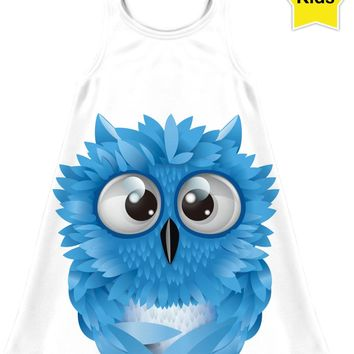 ROCD Blue Owl Children's Dress