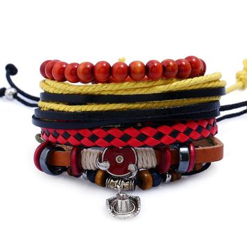 Stylish Shiny Great Deal Hot Sale New Arrival Gift Awesome Accessory Leather Ladies Bracelet [250989510685]
