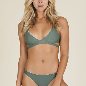 Kaileigh Swimwear - Cabo Top | Olive