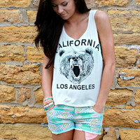 The Right to Bear Arms Cropped Tank