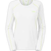 The North Face Women's Shirts & Tops Running/Training/Yoga WOMEN'S LONG-SLEEVE VOLTAGE TEE
