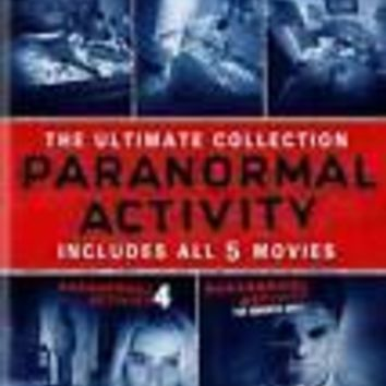 NEW - Paranormal Activity - The Ultimate Collection (Movies 1-5)