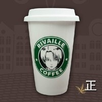 Anime Attack On Titan Water Coffee Cup Mug Ceramic Cup Lavi Levi Rivaille Gift