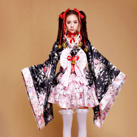 Fancy Dress Japanese Kimono Costume
