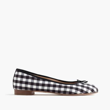 Kiki ballet flats in gingham   Women from J.Crew  c521157a54