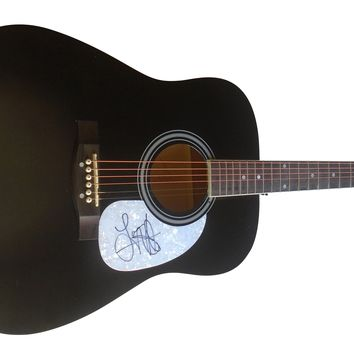 Lauren Alaina Autographed Full Size 41 Inch Country Music Acoustic Guitar, Proof Photo