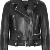 Acne Studios - Leather biker jacket
