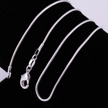Gift New Arrival Shiny Jewelry Stylish Silver Chain Snake Bone Hot Sale Professional Necklace [10417743700]