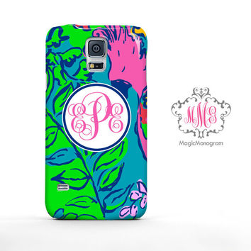 Shake Your Tailfeather Lilly Pulitzer Monogram Samsung Galaxy S6 Case, Galaxy Note 4 Case