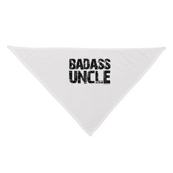 Badass Uncle Dog Bandana 26 by TooLoud