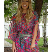 Juicy Couture Open Sleeve Cover Up Tunic