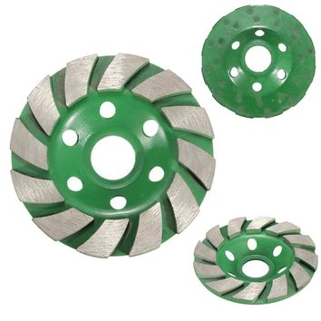 100mm Diamond Grinding Wheel Disc Bowl Shape Grinding Cup Concrete Granite Stone Ceramics Tools