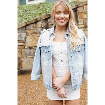Off Shore Denim Jacket, Denim
