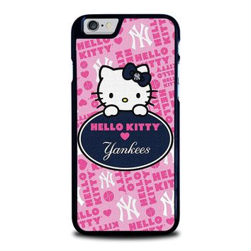 HELLO KITTY NEW YORK YANKEES iPhone 6 / 6S Case Cover