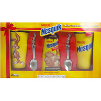 Walmart: Nestle Nesquik Tumbler Gift Set, includes 2 Tumbler Cups, 2 Spoons, and Chocolate Syrup, 5 pc