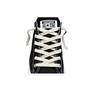 converse unisex replacement cord shoe laces flat style shoelaces white 45 7 eyelets