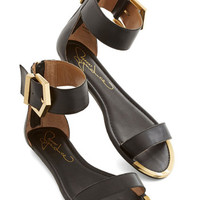 ModCloth Luxe Work It for the Weekend Sandal