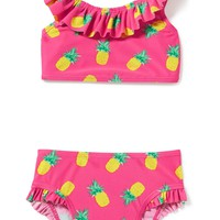 2-Piece Ruffle Bikini for Toddler Girls | Old Navy